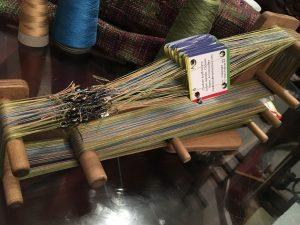 Fully warped loom