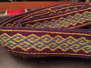 Anglo Saxon diagonal Greek key trim colorway 1