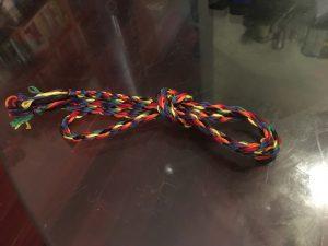 Cord fully braided.